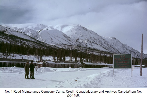 Alaska Highway Maintenance Camp