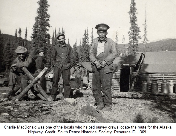 Alaska Highway Construction Charlie MacDonald Survey Crews