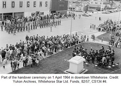 Alaska Highway Handover Ceremony 1964 Whitehorse Yukon