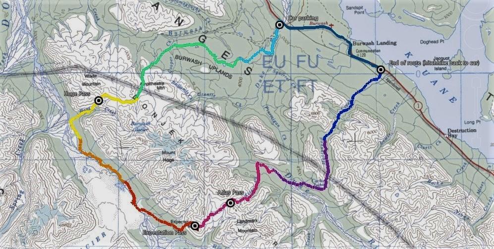 Donjek Route, Kluane National Park and Reserve