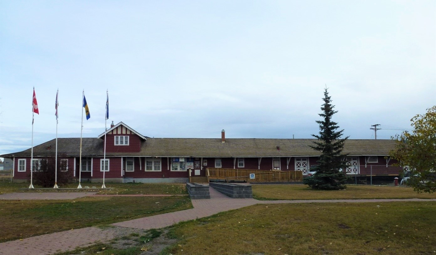 Northern Alberta Railway (NAR) Station Dawson Creek British Columbia