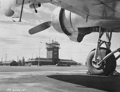 Watson Lake Airport, 3 August 1951