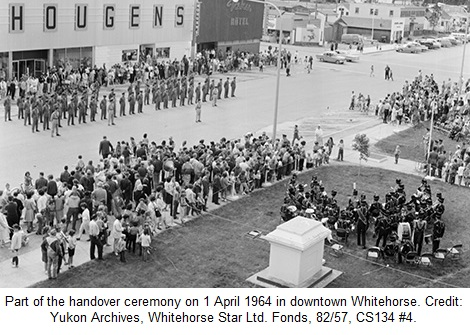 Alaska Highway Handover Ceremony 1964 Whitehorse Yukon