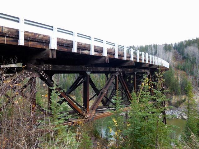 Historic Kiskatinaw Bridge Kiskatinaw Provincial Park British Columbia