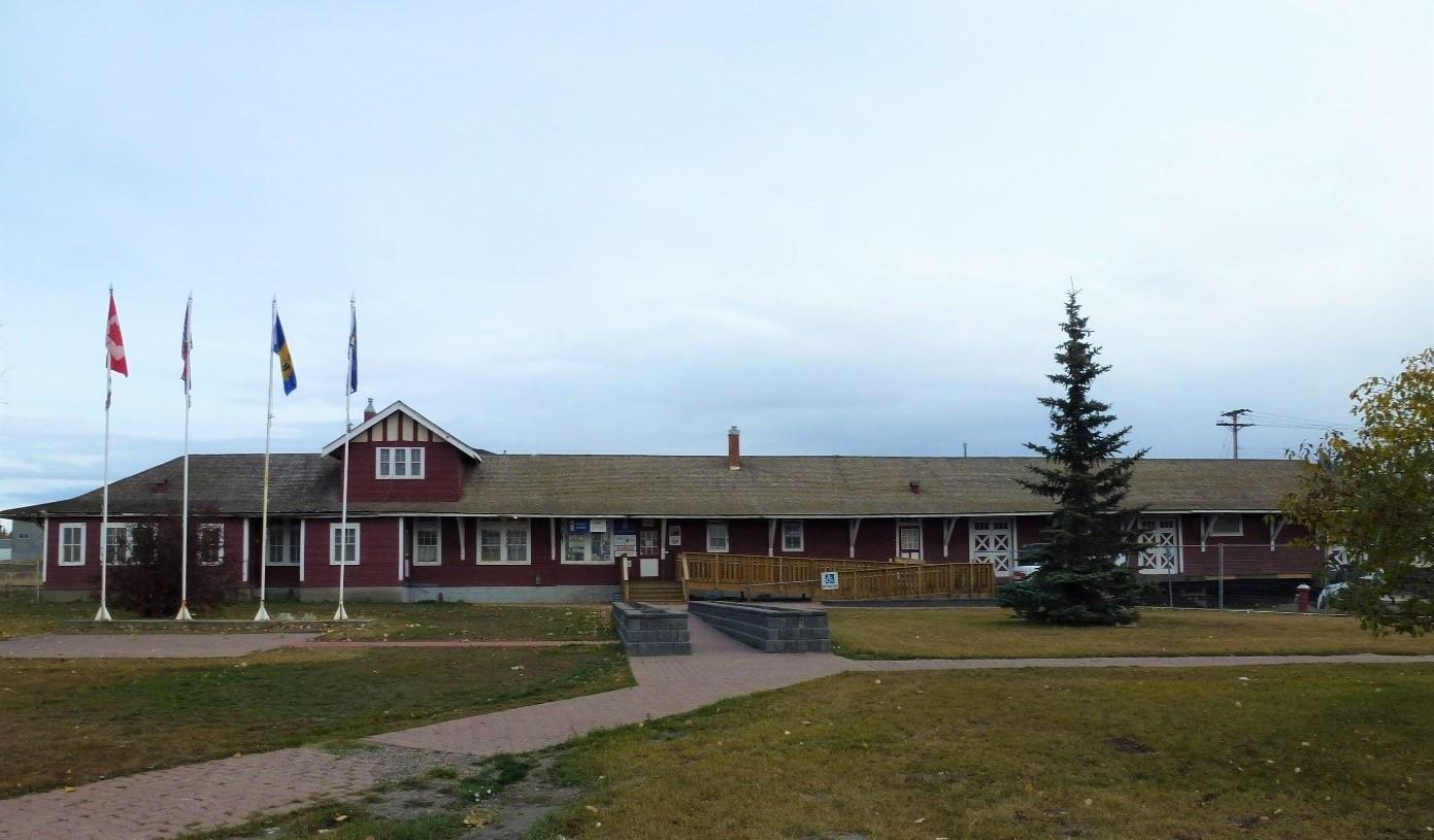 Northern Alberta Railway (NAR) Station Dawson Creek British Columbia