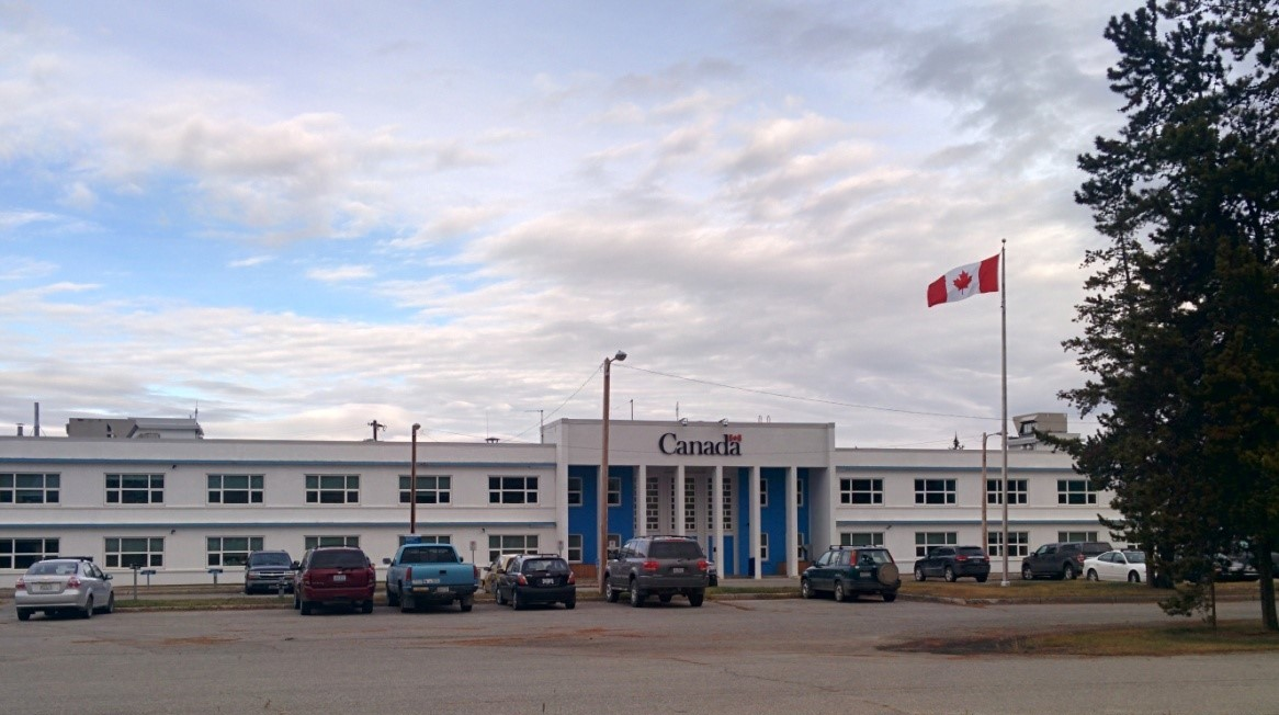NWHS Building Whitehorse Yukon