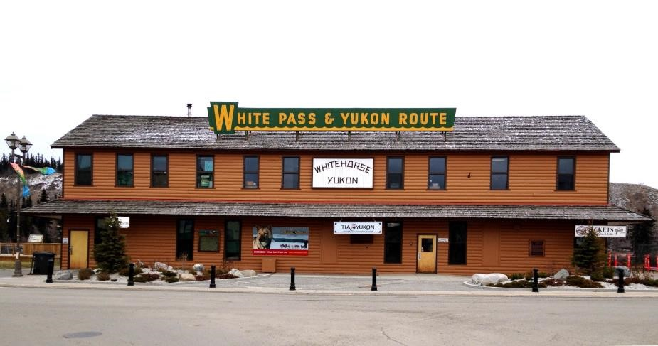 White Pass & Yukon Route Depot Whitehorse Yukon